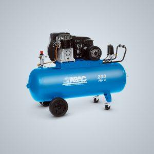 Compresor de pistón ABAC PRO B4900-7000 200 listros HP 4