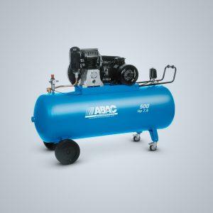 Compresor de pistón PRO Baja Velocidad 500 litros HP 7,7